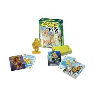 Zeus on the Loose A Card Game of Mythic Proportions