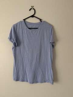 Cotton on Size M Blue T shirt