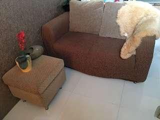 Sofa Ruang Tamu and Puff