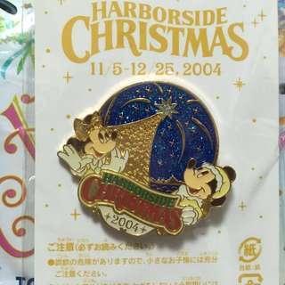 迪士尼襟章 聖誕節2004 米奇 米妮 (Tokyo Disneyland - Disney pin collection Christmas 2004)