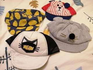 🚚 幼兒帽子