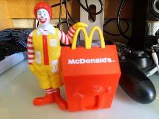 麥當勞糖果盒2個 1998