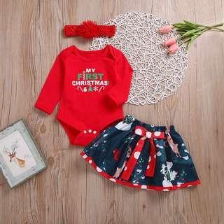 Babies Christmas Set