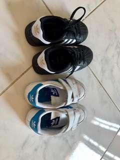 Adidas Bundle sneakers shoes 2-3yo