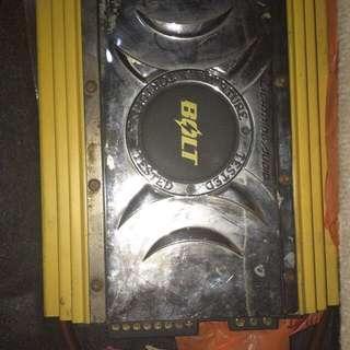Lightning Audio B4.100 4 channel amp