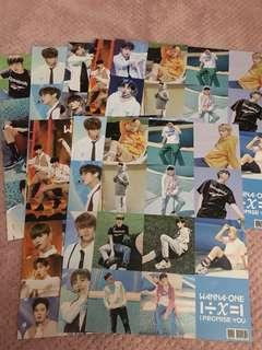 WANNA ONE A3 Posters