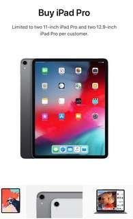 Brand New iPad Pro 12.9 256GB Cellular Space Grey