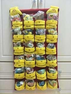 McDonald's Sesame Street Mini Bean Pals Complete Set