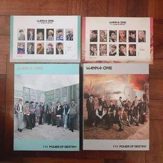 [wts] wanna one unsealed album