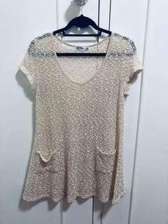 Summery cream dress