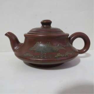 🚚 單孔   顧景舟碗燈貼泥茶壺