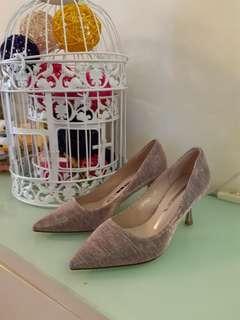 粉紅色晚裝鞋