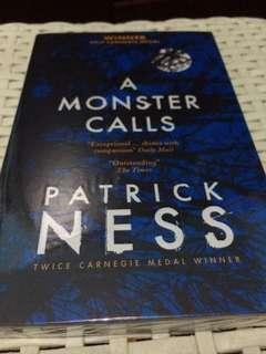 A Monster Calls by Patrick Ness Paperback