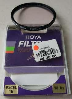 Hoya 58mm Excel 1B Filter