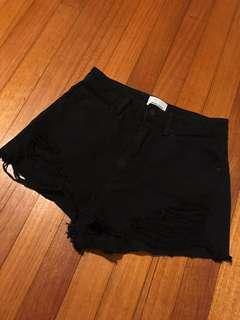 Abrand black shorts