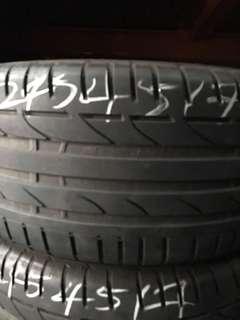 245/45R17 Bridgestone S001