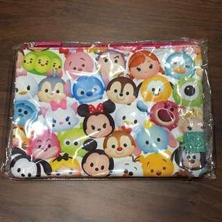 日本 迪士尼 TSUMTSUM 化妝袋 置物袋 筆袋