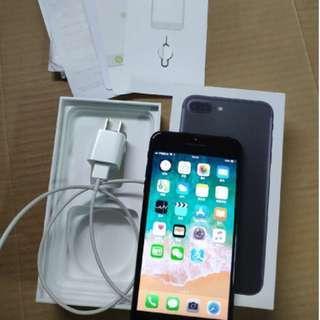 i7 plus 128G  磨砂黑  99%New