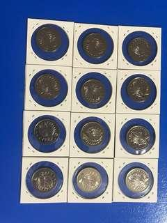 🚚 Old Singapore 50 cent coin