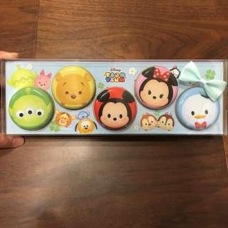 日本 迪士尼 TSUMTSUM 小鐵盒 置物盒