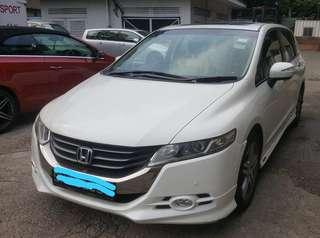 Honda Odyssey 2.4A (RB3) 2009 Selling at RM12,700 siap