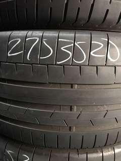 275/35R20 Continental CSC6