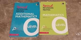 Topical Revision Notes (A MATH/ E MATH)