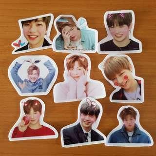 wanna one daniel stickers