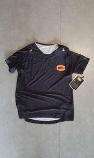 100% celium heather black jersey