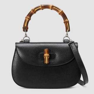 78ebe194132a Gucci Bamboo Mini Leather Bag