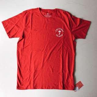 Coconut Island T-Shirt - Red