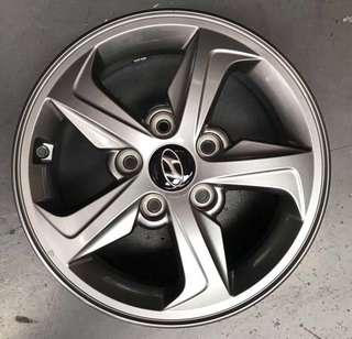 "Used 15"" Original Hyundai Rims"