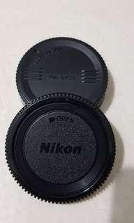 Nikon Body and Lens cover