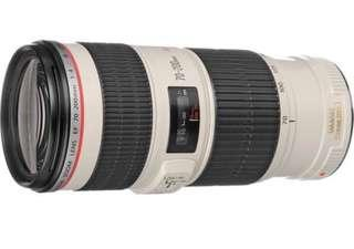 [SALES] FINAL REDUCTION CANON 70-200 F4 IS