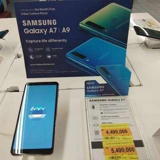 Kredit handphone Samsung A7