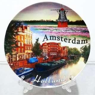 Pajangan Piring Keramik Holland Amsterdam