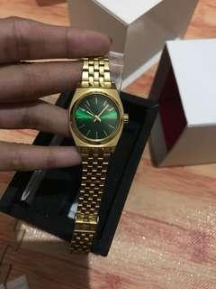 Jam Tangan Nixon Sunray Gold Green