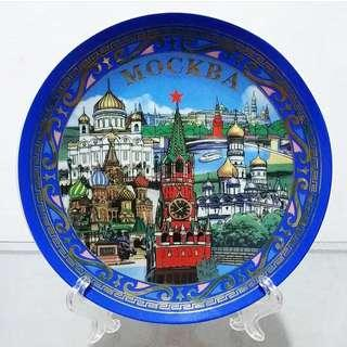 Pajangan Piring Keramik Mockba Rusia Murah Di Jakarta
