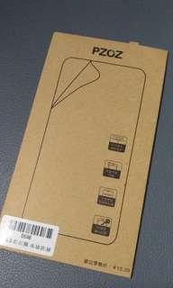 """PZOZ 5.5"""" screen protector (front and back)"""