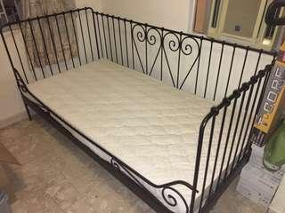 單人床連床架