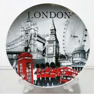 Pajangan Piring Keramik Mancanegara Inggris London K