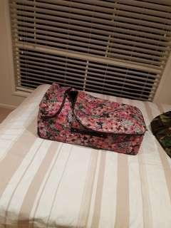 Volcom suitcase