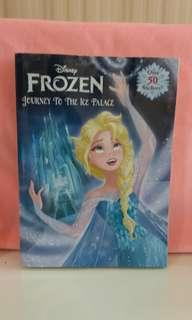 Frozen: Journey to the ice palace activity book / buku aktivitas anak-anak
