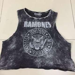 Pull&Bear Ramones Top ORI!!