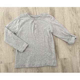 Grey Long Sleeve Tshirt