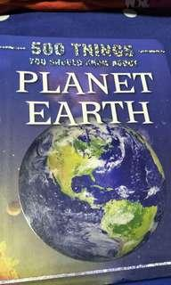 500 Things you should know about Planet Earth!