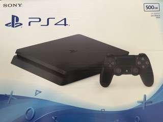 PlayStation PS4 全新連盒