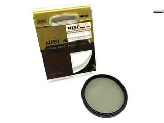 55mm CPL filter rotatable polarizer filter