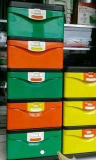 lemari plastik laci verona