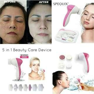 5 in 1 beauty care device